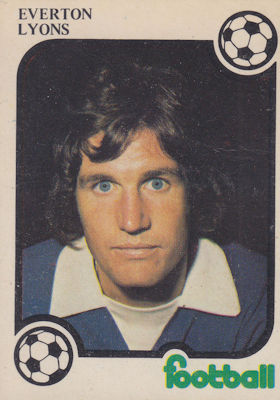 MONTY GUM-FOOTBALL NOW 1975//76 HODGSON NEWCASTLE