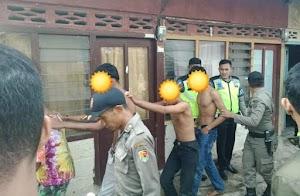 Tidur Satu Kontrakan, Lima Remaja Pria dan Dua Remaja Perempuan Digerebek Satpol PP Kota Solok
