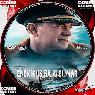 GALLETA ENEMIGOS BAJO EL MAR - EN LA MIRA DEL ENEMIGO - GREYHOUND 2020[COVER DVD]