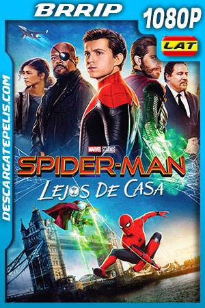 Spider-Man: Lejos de casa (2019) HD 1080p BRRip Latino – Ingles
