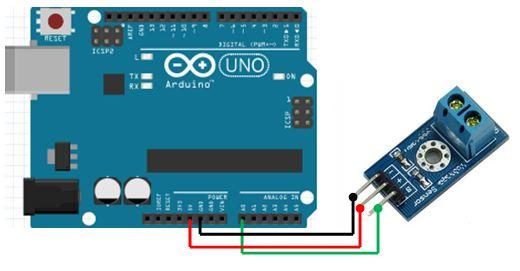 Tutorial arduino mengukur tegangan dengan modul sensor
