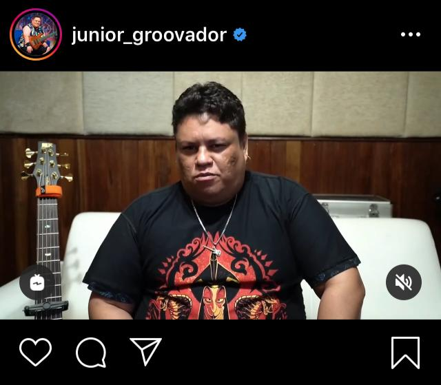 Junior Grovadoor Lamenta não poder tocar no carnaval em Natal