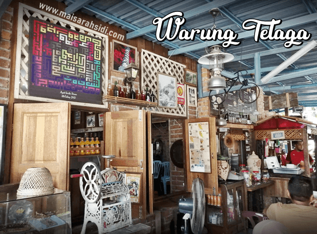 Makan Petang di Warung Telaga Kota Lama Kiri, Kuala Kangsar