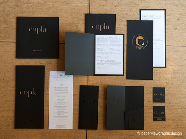 This is how you design a menu for the Lebanese & Middle Eastern market - Copla Beirut by Paperview Design