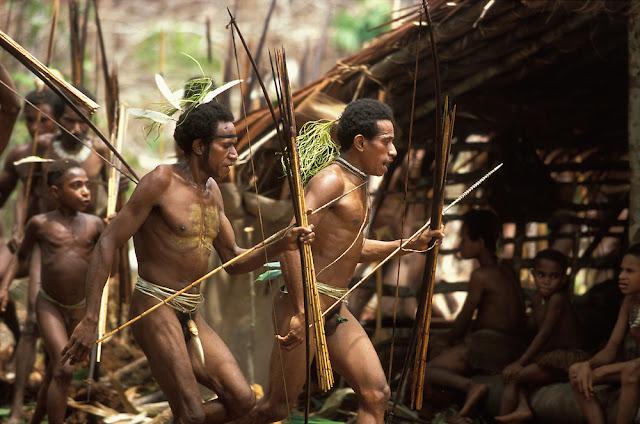 Trang phục thuần chất người rừng