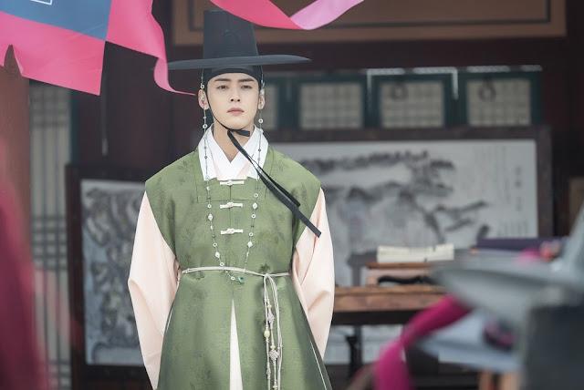Rookie Historian Goo Hae Ryung korean drama Cha Eun Woo