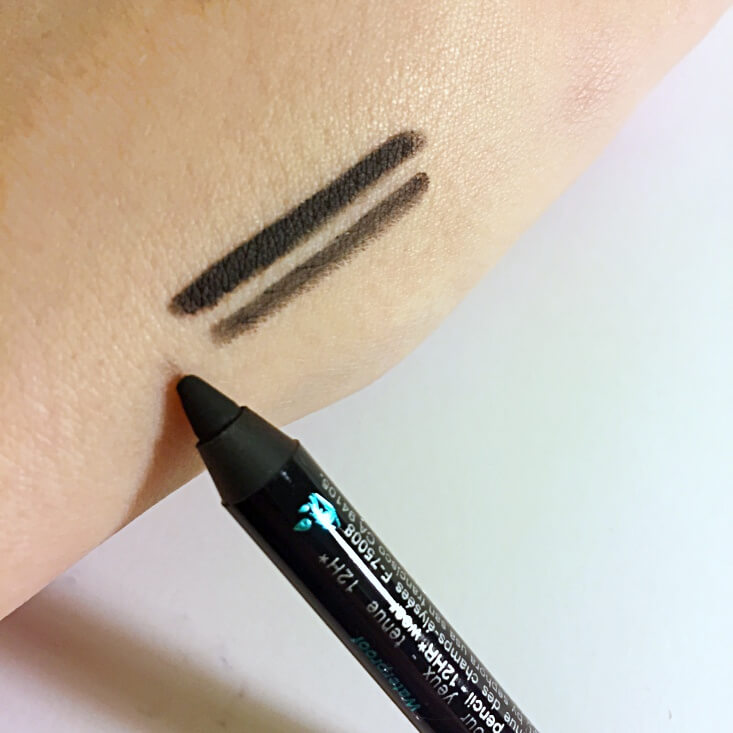 Sephora Contour Eye Pencil 12 hr Wear Waterproof in Black Lace swatch