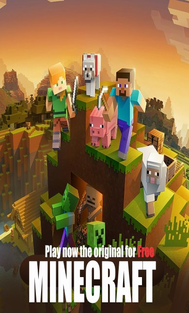 Play now the original Minecraft game for free
