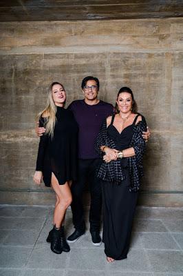 Luhanna, Luciano e Beth Szafir - Divulgação