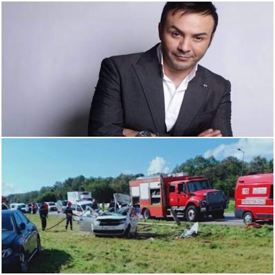 إصابة خطيرة للفنان حاتم إيدار في حادثة سير مميتة