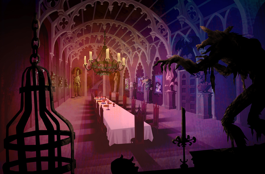 Stephen Nicodemus Scooby Doo Mystery Incorporated Background Art