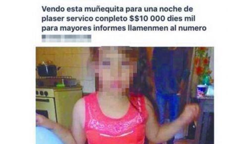 Padres liberados tras haber ofrecido a su hija por 10 mil pesos