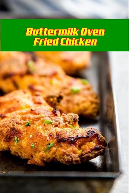 #buttermilk #oven #fried #chicken