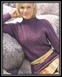 krasivii jenskii pulover spicami (7)