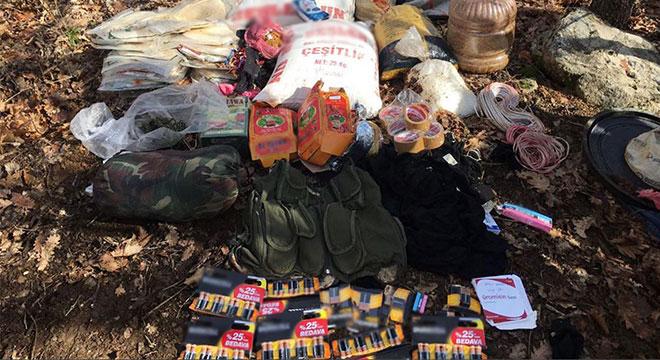Diyarbakır Lice'de 18 sığınak ve 6 patlayıcı düzeneği tahrip edildi