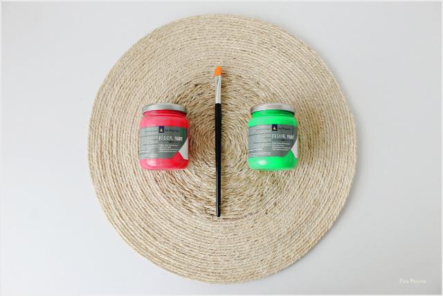 mantel individual cuerda sandía