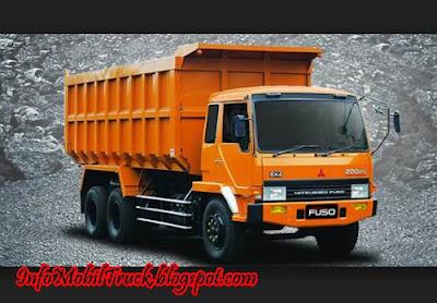 Mitsubishi truk dump fuso