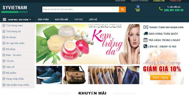 [Share] - Giao diện blog bán hàng