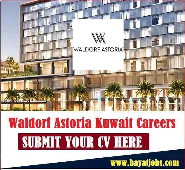 Waldorf Astoria Kuwait Careers For Hospitality