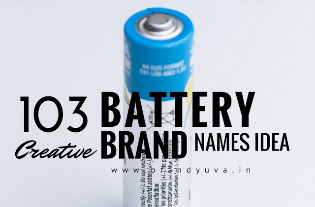battery brand names idea