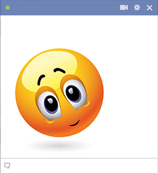 Pretty Please FB Smiley