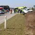 إصابة 6 اشخاص بحادث سير بالقرب من مدينة Haslev