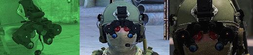 Arma3用AN/PVS-12 LPNVGアドオンが作製中