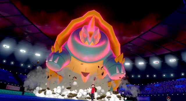 Pokémon Sword Shield Drednaw Gigantamax Dynamax form