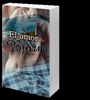 Portada del libro El amor de Bjorn de las autoras Naitora McLine y Verónica Thorne