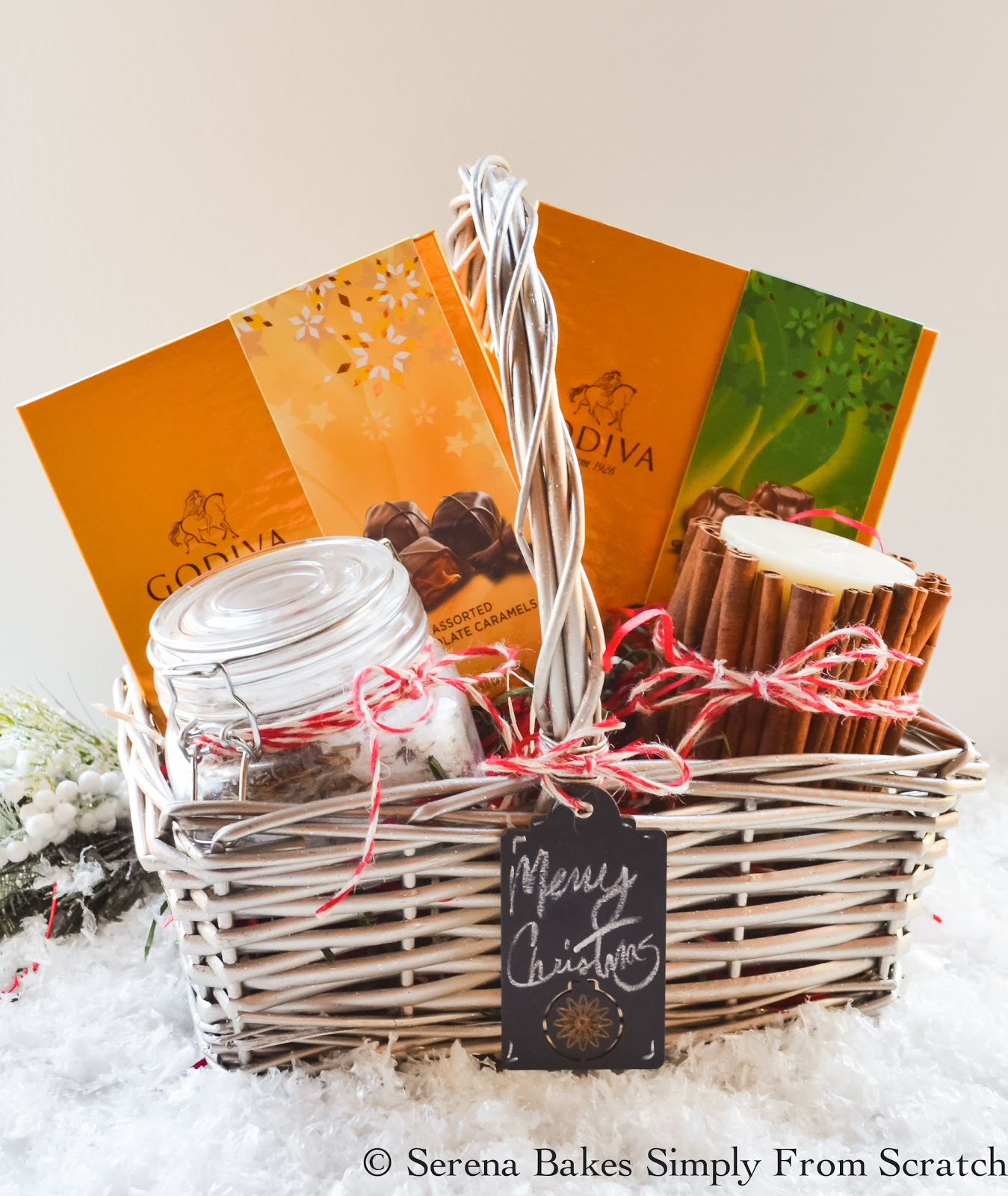 Holiday gift basket ideas serena bakes simply from scratch holiday gift basket ideas with fun ideas for teenagers men or women including a diy negle Images