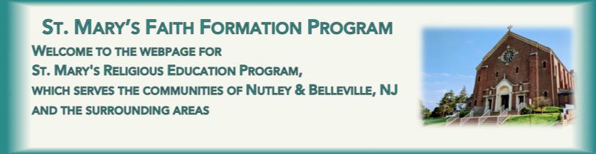 St. Mary's Faith Formation Program
