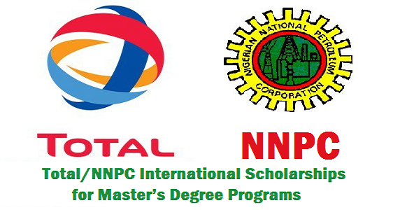 Total/NNPC International Scholarship for Master's Degree Programs in France