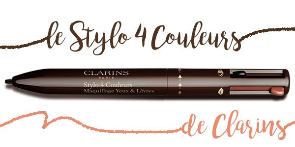 Clarins • Le Stylo 4 Couleurs