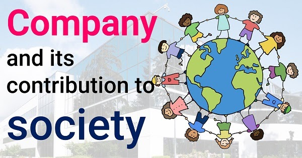 Company and its contribution to society