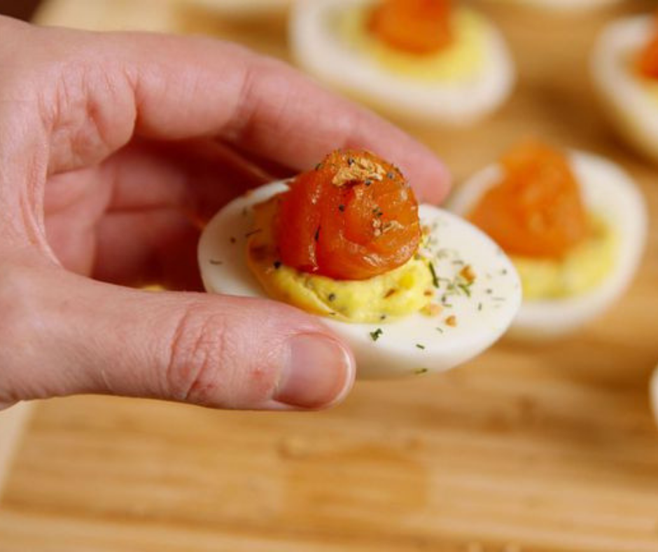Everything Deviled Eggs - food-drink-recipes.com