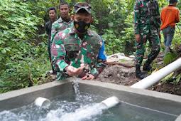 Ahmad Rizal Ramdhani Cek Pembangunan Pompa Hidram di Lombok Utara