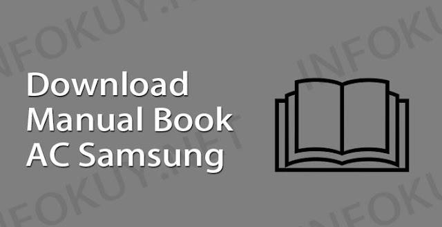 download manual book ac samsung