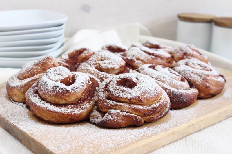 Hefeschnecken mit Marmelade, Rezept auf dem Südtiroler Food- und Lifestyleblog kebo homing