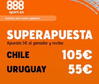 888sport superapuesta copa america Chile vs Uruguay 25 junio 2019