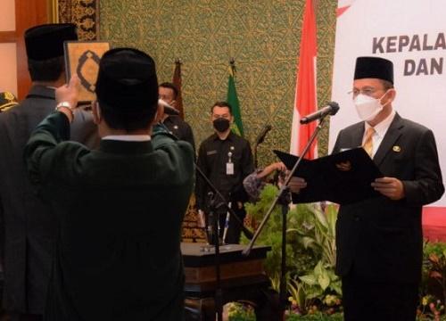 Kepala BPKP Kepri Resmi Dilantik, Berikut Pesan Gubernur
