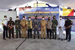 Jefisrtson Riwu Kore Apresiasi Program Serbuan Vaksinasi TNI AL di Kota Kupang