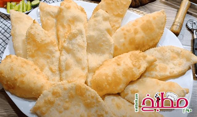 فطائر الجبنة المقلية بدون فرن فاطمه ابو حاتي