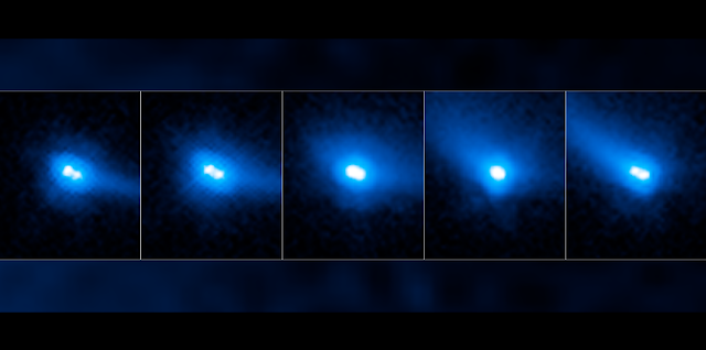 comet or asteroid hubble discovers that a unique object is a binary