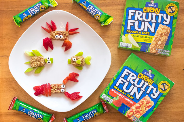 How to Make Quaker Chewy Fruity Fun Bar Animals