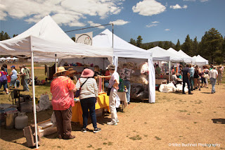some booths at Flag Wool & Fiber Festival (2017)