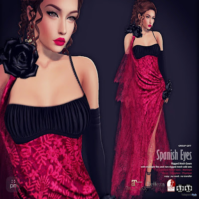 Spanish Eyes Gown Group Gift by PurpleMoon