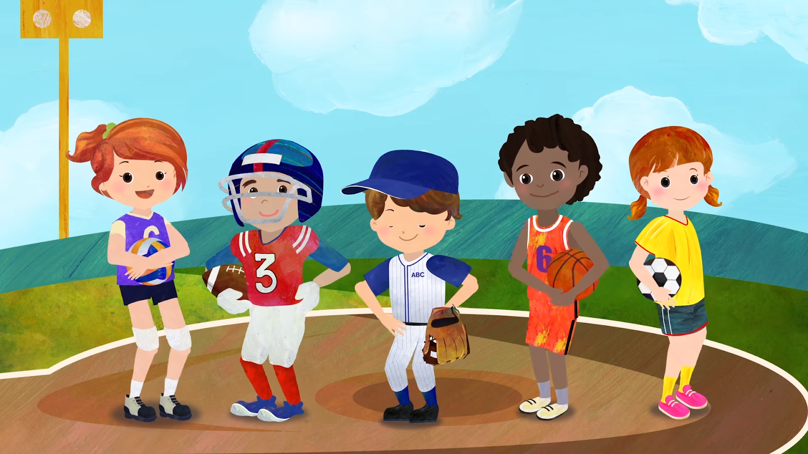 How Sports Can Help Childhood Obesity. kids playing sports