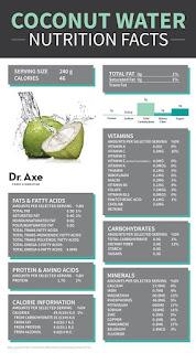 kandungan nutrisi air buah kelapa