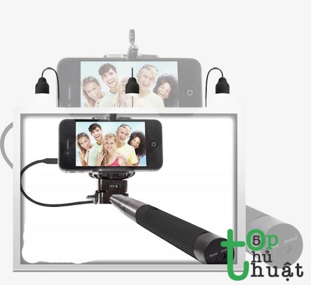 Gậy tích hợp chụp ảnh thông minh cho smartphone