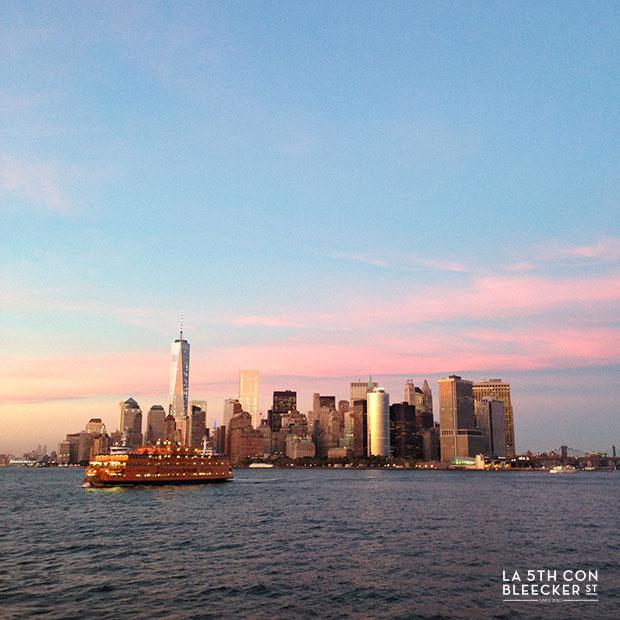 miradores de Nueva York ferry gratuito de staten island
